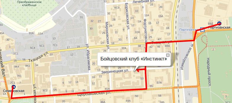 г.Москва, ул.Щербаковская д. 53, корп. 17, м. Семеновская или Партизанская.